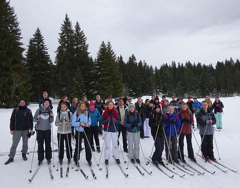 VEU - Skilaufen Unterstuetzung
