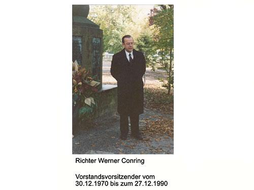 VEU - Timeline Vorstandsvorsitzender Richter Werner Conring